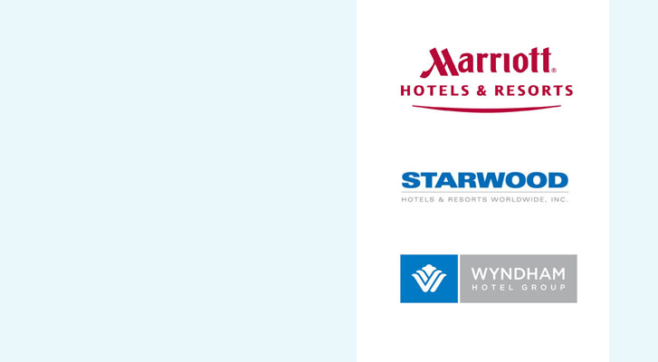 Image: Marriott, Starwood, and Wyndham Hotels - Benchmarc360 Event housing planning services.